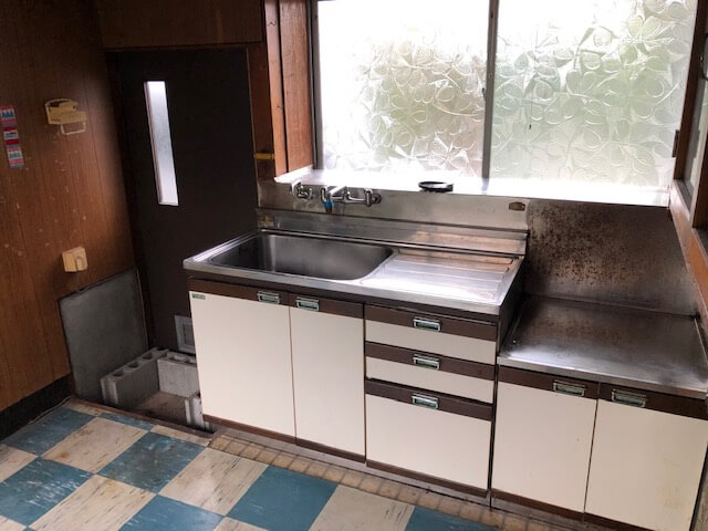 整理された台所