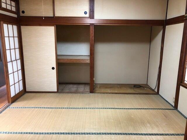 整理された和室2